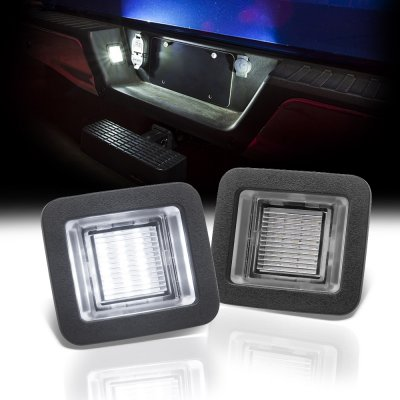 Ford F150 2015-2018 White LED License Plate Light Kit