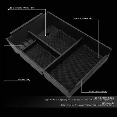 Ford F150 2009-2014 Center Console Tray Organizer