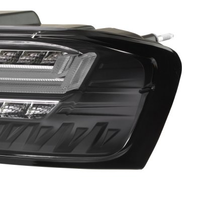 Chevy Camaro 2016-2018 Black LED Tail Lights Sequential Turn Signals