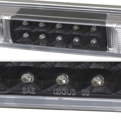 Chevy 3500 Pickup 1988-1998 Black LED Third Brake Light White LED Cargo