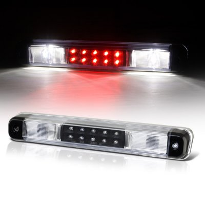 Chevy Silverado 1988-1998 Black LED Third Brake Light White LED Cargo