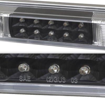 GMC Sierra 2500 1988-1998 Black LED Third Brake Light White LED Cargo