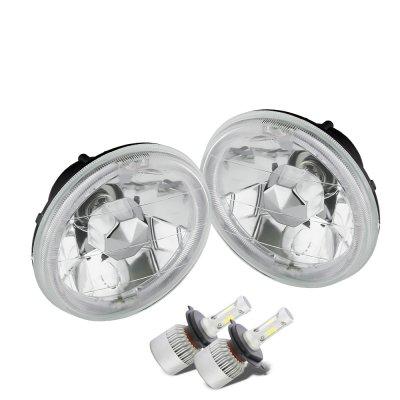 Chevy El Camino 1964-1970 LED Headlights Conversion Kit Low Beams