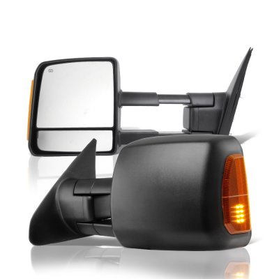 Toyota Tundra 2007 2019 Towing Mirrors Power Heated Led