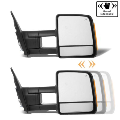 Toyota Tundra 2007-2018 Towing Mirrors Power Heated LED Signal Lights