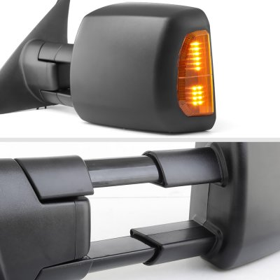 Toyota Tundra 2007-2021 Towing Mirrors Power Heated LED Signal Lights