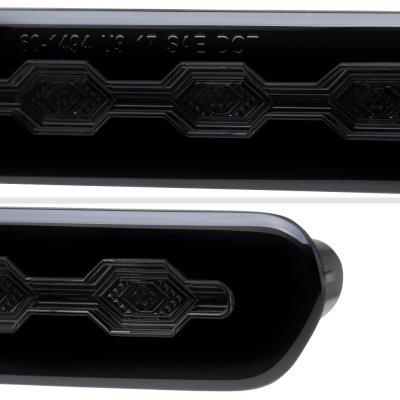 Chevy Camaro 2016-2018 Black Smoked Flash LED Third Brake Light