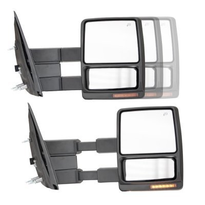 Ford F150 2004-2006 Chrome Towing Mirrors Power Heated LED Signal Lights