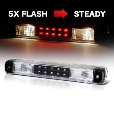 Chevy Silverado 1988-1998 Black Flash LED Third Brake Light