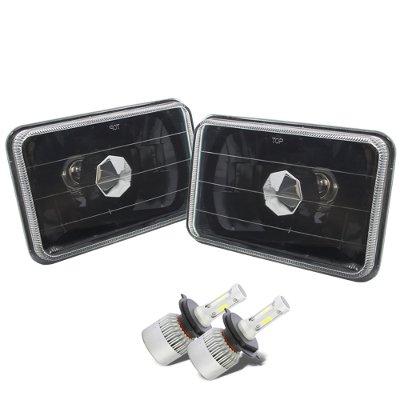 Chevy S10 1994-1997 Black LED Headlights Conversion Kit