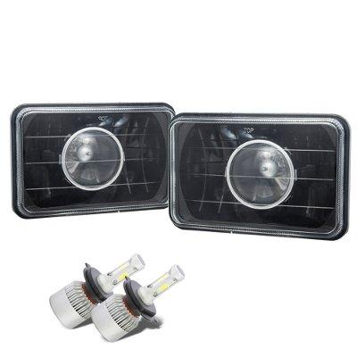 Buick Skyhawk 1975-1978 Black LED Projector Headlights Conversion Kit