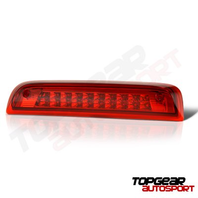 Chevy Silverado 2500HD 2015-2017 Red Full LED Third Brake Light Cargo Light