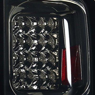 Nissan Armada 2004-2012 Smoked LED Tail Lights