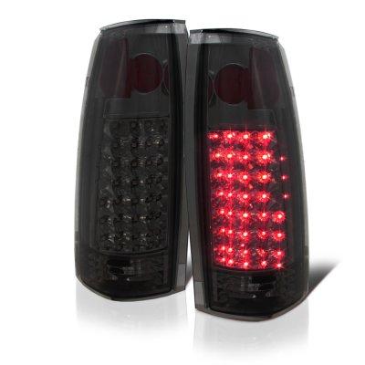 GMC Sierra 1988-1998 LED Tail Lights Smoked