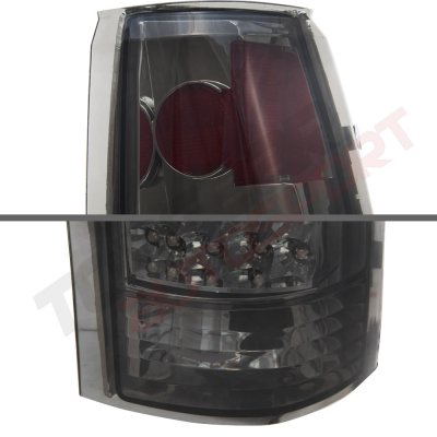 GMC Sierra 1988-1998 LED Tail Lights Smoked