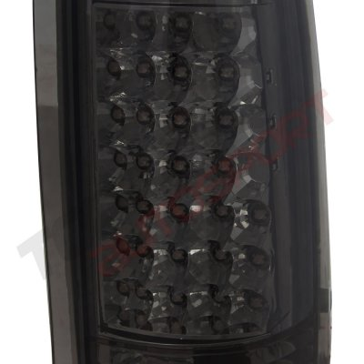 GMC Sierra 2500 1988-1998 LED Tail Lights Smoked