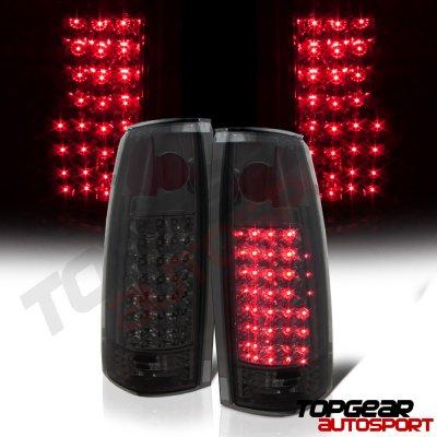 GMC Suburban 1992-1999 LED Tail Lights Smoked