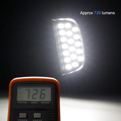 Chevy Silverado 3500 2003-2006 White LED License Plate Light Kit