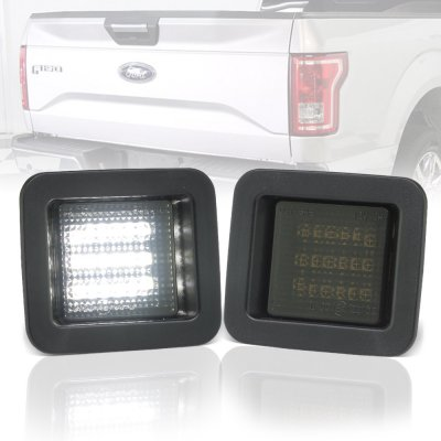 Ford F150 2015 2018 Smoked Led License Plate Light