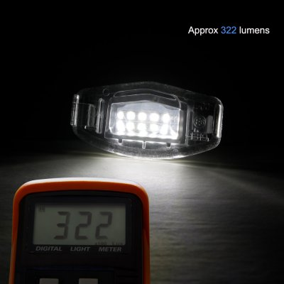 Acura ILX 2013-2018 White LED License Plate Light Kit