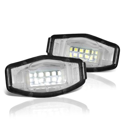 Acura MDX 2007-2013 White LED License Plate Light Kit