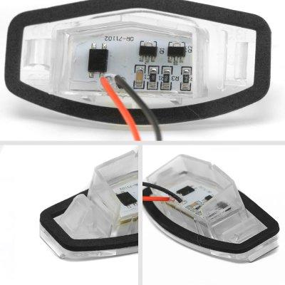 Acura MDX 2007-2013 White LED License Plate Light Kit