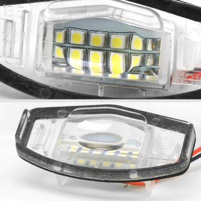 Honda Accord Sedan 2003-2007 White LED License Plate Light Kit