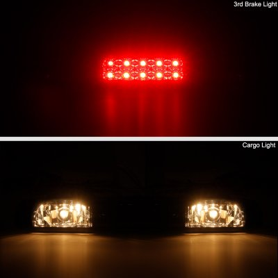 Chevy Silverado 1999-2006 Black Smoked LED Third Brake Light