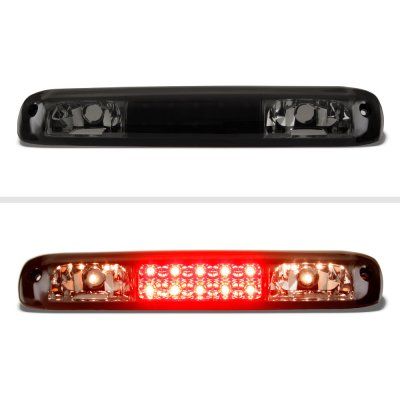 GMC Sierra 1999-2006 Black Smoked LED Third Brake Light