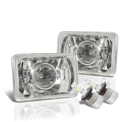 Chevy Celebrity 1982-1986 LED Projector Headlights Conversion Kit