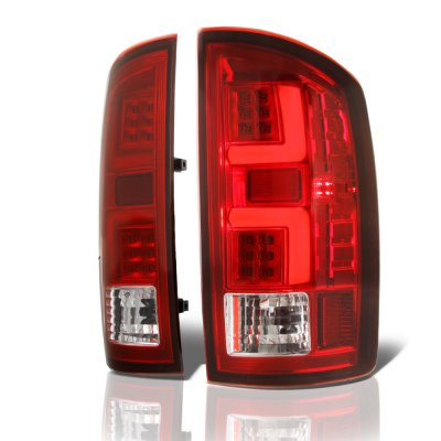 Dodge Ram 2002-2006 Tube LED Tail Lights