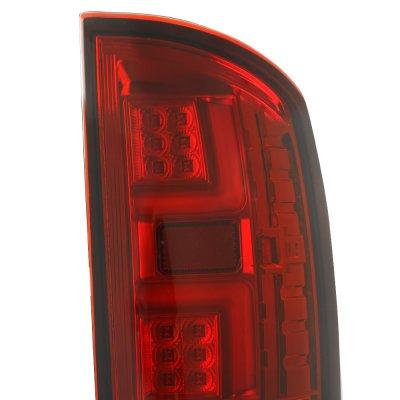 Dodge Ram 3500 2003-2006 Tube LED Tail Lights