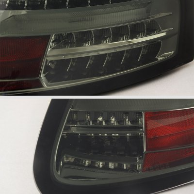 Porsche Boxster 986 1997-2004 New Smoked LED Tail Lights Sequential Turn Signals