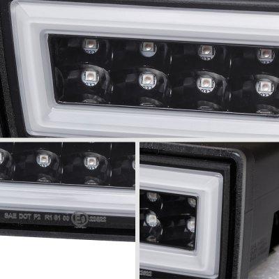 Subaru Impreza WRX 2011-2014 JDM Flash LED Rear Fog Light Kit