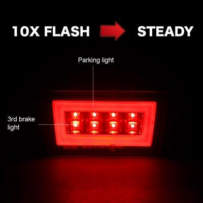 Subaru XV Crosstrek 2013-2015 Flash LED Rear Fog Light Kit