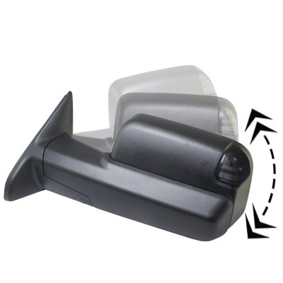 Dodge Ram 2500 2010 2018 Power Folding Towing Mirrors