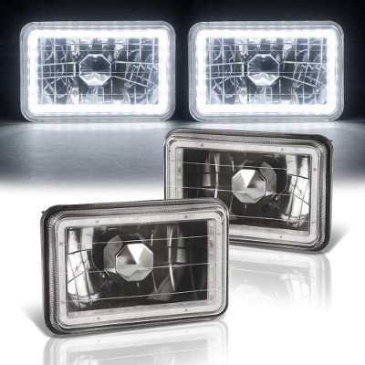 Chevy S10 1994-1997 Black SMD LED Sealed Beam Headlight Conversion