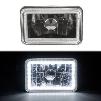 Ford LTD Crown Victoria 1988-1991 Black SMD LED Sealed Beam Headlight Conversion
