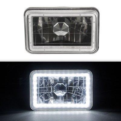 VW Scirocco 1982-1988 Black SMD LED Sealed Beam Headlight Conversion