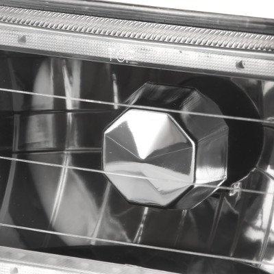 Buick Skyhawk 1975-1978 Black SMD LED Sealed Beam Headlight Conversion