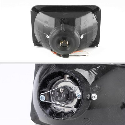 Ford LTD Crown Victoria 1988-1991 Black SMD LED Sealed Beam Headlight Conversion