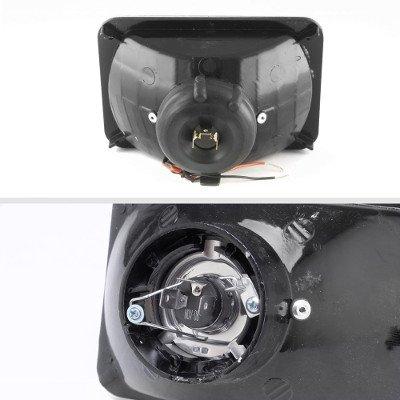 Pontiac LeMans 1976-1977 Black SMD LED Sealed Beam Headlight Conversion