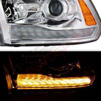 Dodge Ram 2500 2010-2018 Projector Headlights Premium LED DRL Signal Lights