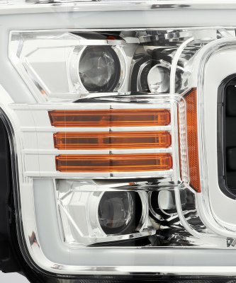 Ford F150 2018-2019 Projector Headlights Switchback LED DRL Signal Lights