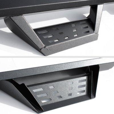 GMC Sierra 2500HD Double Cab 2015-2019 Drop Step Nerf Bars