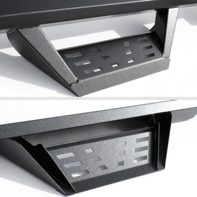 GMC Sierra 1500 Double Cab 2014-2018 Drop Step Nerf Bars