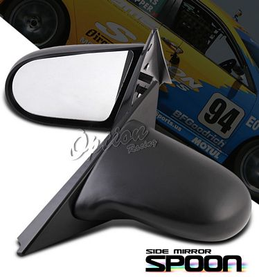 Acura Integra Coupe 1994-2001 Black Spoon Style Power Side Mirror