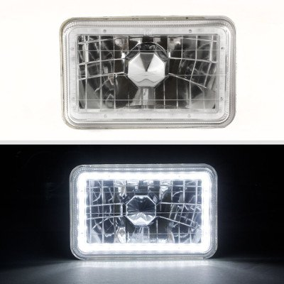 VW Scirocco 1982-1988 SMD LED Sealed Beam Headlight Conversion