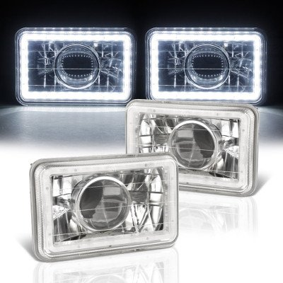 Pontiac Grand AM 1985-1989 SMD LED Sealed Beam Projector Headlight Conversion