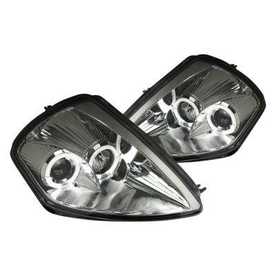 Mitsubishi Eclipse 2000-2005 Smoked Halo Projector Headlights